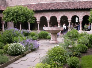 Cloister interior court