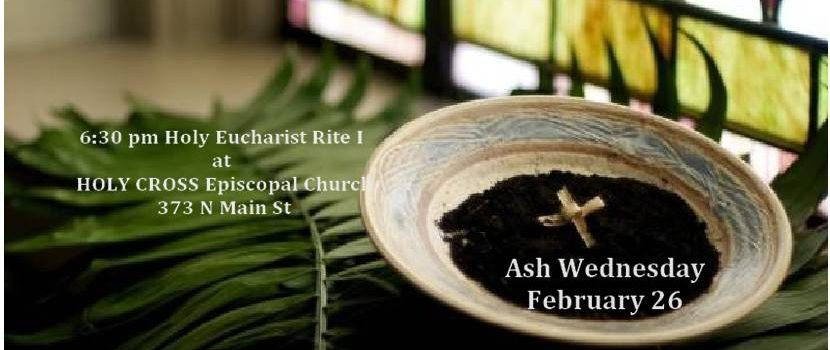 Ash Wednesday at Holy Cross